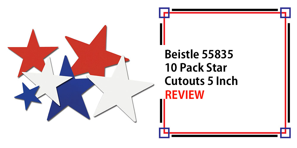 Beistle 55835 10 Pack Star Cutouts 5 Inch Review