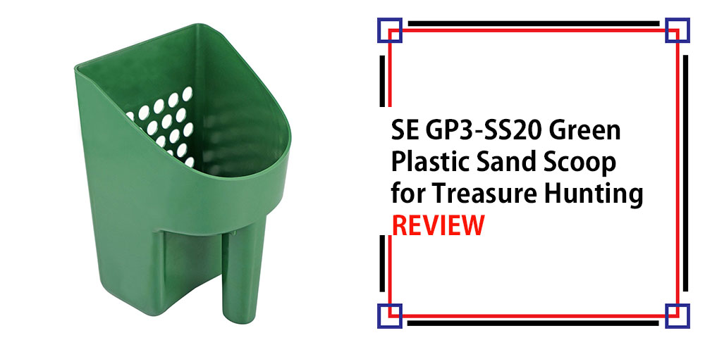 SE GP3-SS20 Green Plastic Sand Scoop for Treasure Hunting Review